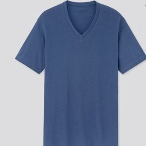 🔴V-neck short sleeve T-shirt
